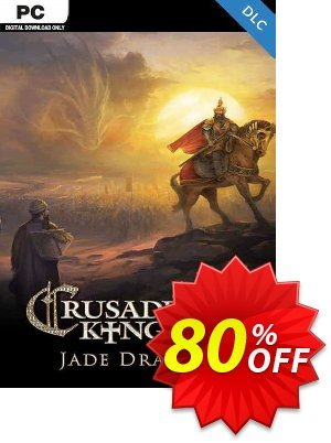 Crusader Kings II -  Jade Dragon PC - DLC discount coupon Crusader Kings II -  Jade Dragon PC - DLC Deal 2021 CDkeys - Crusader Kings II -  Jade Dragon PC - DLC Exclusive Sale offer for iVoicesoft