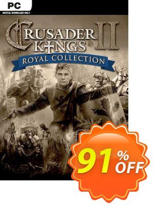 Crusader Kings II Royal Collection PC discount coupon Crusader Kings II Royal Collection PC Deal 2021 CDkeys - Crusader Kings II Royal Collection PC Exclusive Sale offer for iVoicesoft