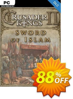Crusader Kings II: Sword of Islam PC - DLC discount coupon Crusader Kings II: Sword of Islam PC - DLC Deal 2021 CDkeys - Crusader Kings II: Sword of Islam PC - DLC Exclusive Sale offer for iVoicesoft