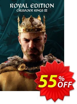 Crusader Kings III: Royal Edition PC discount coupon Crusader Kings III: Royal Edition PC Deal 2021 CDkeys - Crusader Kings III: Royal Edition PC Exclusive Sale offer for iVoicesoft