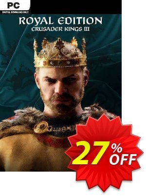 Crusader Kings III - Royal Edition PC + DLC discount coupon Crusader Kings III - Royal Edition PC + DLC Deal 2021 CDkeys - Crusader Kings III - Royal Edition PC + DLC Exclusive Sale offer for iVoicesoft
