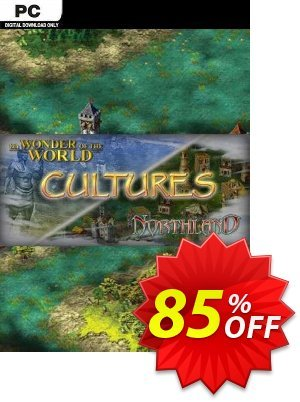 Cultures Northland + 8th Wonder of the World PC discount coupon Cultures Northland + 8th Wonder of the World PC Deal 2021 CDkeys - Cultures Northland + 8th Wonder of the World PC Exclusive Sale offer for iVoicesoft