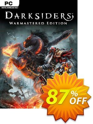 Darksiders Warmastered Edition PC discount coupon Darksiders Warmastered Edition PC Deal 2021 CDkeys - Darksiders Warmastered Edition PC Exclusive Sale offer for iVoicesoft