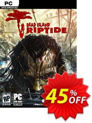 Dead Island: Riptide PC (EU) discount coupon Dead Island: Riptide PC (EU) Deal 2021 CDkeys - Dead Island: Riptide PC (EU) Exclusive Sale offer for iVoicesoft