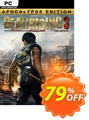 Dead Rising 3: Apocalypse Edition PC (EU) discount coupon Dead Rising 3: Apocalypse Edition PC (EU) Deal 2021 CDkeys - Dead Rising 3: Apocalypse Edition PC (EU) Exclusive Sale offer for iVoicesoft