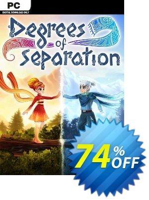 Degrees of Separation PC 優惠券,折扣碼 Degrees of Separation PC Deal 2021 CDkeys,促銷代碼: Degrees of Separation PC Exclusive Sale offer for iVoicesoft
