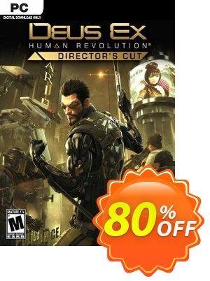 Deus Ex: Human Revolution - Director's Cut PC discount coupon Deus Ex: Human Revolution - Director's Cut PC Deal 2021 CDkeys - Deus Ex: Human Revolution - Director's Cut PC Exclusive Sale offer for iVoicesoft