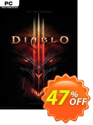 Diablo III PC (EU) discount coupon Diablo III PC (EU) Deal 2021 CDkeys - Diablo III PC (EU) Exclusive Sale offer for iVoicesoft