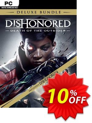 Dishonored: Death of the Outsider - Deluxe Bundle PC discount coupon Dishonored: Death of the Outsider - Deluxe Bundle PC Deal 2021 CDkeys - Dishonored: Death of the Outsider - Deluxe Bundle PC Exclusive Sale offer for iVoicesoft