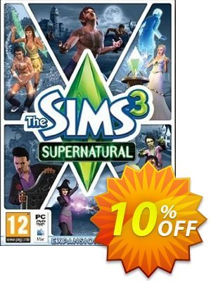 The Sims 3: Supernatural Mac/PC discount coupon The Sims 3: Supernatural Mac/PC Deal - The Sims 3: Supernatural Mac/PC Exclusive offer for iVoicesoft