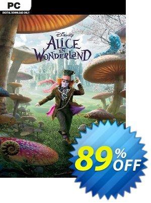 Disney Alice in Wonderland PC discount coupon Disney Alice in Wonderland PC Deal 2021 CDkeys - Disney Alice in Wonderland PC Exclusive Sale offer for iVoicesoft