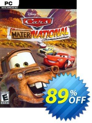 Disney Pixar Cars Mater-National Championship PC discount coupon Disney Pixar Cars Mater-National Championship PC Deal 2021 CDkeys - Disney Pixar Cars Mater-National Championship PC Exclusive Sale offer for iVoicesoft