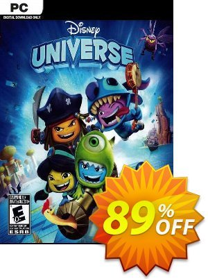 Disney Universe PC discount coupon Disney Universe PC Deal 2021 CDkeys - Disney Universe PC Exclusive Sale offer for iVoicesoft