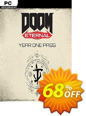 DOOM Eternal - Year One Pass PC (WW) discount coupon DOOM Eternal - Year One Pass PC (WW) Deal 2021 CDkeys - DOOM Eternal - Year One Pass PC (WW) Exclusive Sale offer for iVoicesoft