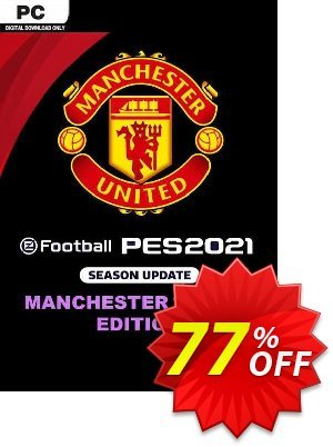 eFootball PES 2021 Manchester United Edition PC discount coupon eFootball PES 2021 Manchester United Edition PC Deal 2021 CDkeys - eFootball PES 2021 Manchester United Edition PC Exclusive Sale offer for iVoicesoft