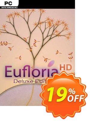 Eufloria HD Deluxe Edition PC discount coupon Eufloria HD Deluxe Edition PC Deal 2021 CDkeys - Eufloria HD Deluxe Edition PC Exclusive Sale offer for iVoicesoft