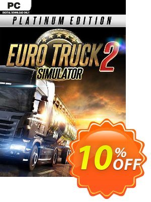 Euro Truck Simulator 2 Platinum Edition PC discount coupon Euro Truck Simulator 2 Platinum Edition PC Deal 2021 CDkeys - Euro Truck Simulator 2 Platinum Edition PC Exclusive Sale offer for iVoicesoft