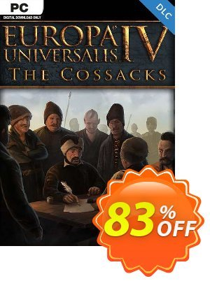 Europa Universalis IV 4 PC Cossacks DLC discount coupon Europa Universalis IV 4 PC Cossacks DLC Deal 2021 CDkeys - Europa Universalis IV 4 PC Cossacks DLC Exclusive Sale offer for iVoicesoft