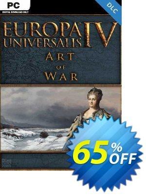 Europa Universalis IV: Art of War PC - DLC discount coupon Europa Universalis IV: Art of War PC - DLC Deal 2021 CDkeys - Europa Universalis IV: Art of War PC - DLC Exclusive Sale offer for iVoicesoft
