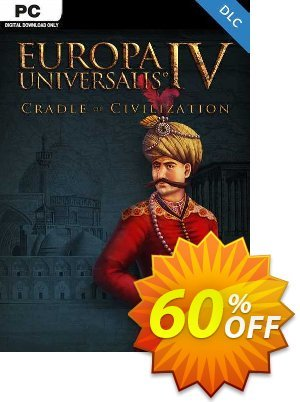 Europa Universalis IV: Cradle of Civilization PC - DLC discount coupon Europa Universalis IV: Cradle of Civilization PC - DLC Deal 2021 CDkeys - Europa Universalis IV: Cradle of Civilization PC - DLC Exclusive Sale offer for iVoicesoft