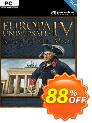 Europa Universalis IV: Rights of Man PC - DLC discount coupon Europa Universalis IV: Rights of Man PC - DLC Deal 2021 CDkeys - Europa Universalis IV: Rights of Man PC - DLC Exclusive Sale offer for iVoicesoft