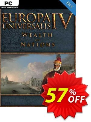 Europa Universalis IV -  Wealth of Nations PC - DLC discount coupon Europa Universalis IV -  Wealth of Nations PC - DLC Deal 2021 CDkeys - Europa Universalis IV -  Wealth of Nations PC - DLC Exclusive Sale offer for iVoicesoft