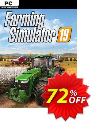 Farming Simulator 19 PC 優惠券,折扣碼 Farming Simulator 19 PC Deal,促銷代碼: Farming Simulator 19 PC Exclusive offer for iVoicesoft