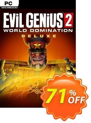 Evil Genius 2: World Domination Deluxe Edition PC discount coupon Evil Genius 2: World Domination Deluxe Edition PC Deal 2021 CDkeys - Evil Genius 2: World Domination Deluxe Edition PC Exclusive Sale offer for iVoicesoft