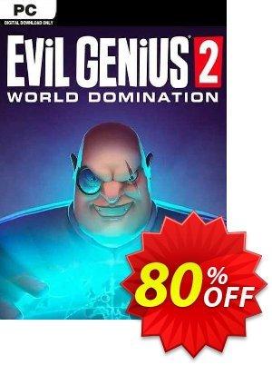 Evil Genius 2: World Domination PC discount coupon Evil Genius 2: World Domination PC Deal 2021 CDkeys - Evil Genius 2: World Domination PC Exclusive Sale offer for iVoicesoft