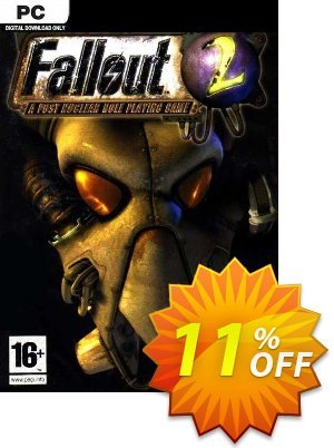 Fallout 2: A Post Nuclear Role Playing Game PC discount coupon Fallout 2: A Post Nuclear Role Playing Game PC Deal 2021 CDkeys - Fallout 2: A Post Nuclear Role Playing Game PC Exclusive Sale offer for iVoicesoft