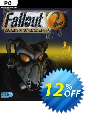 Fallout 2 PC discount coupon Fallout 2 PC Deal 2021 CDkeys - Fallout 2 PC Exclusive Sale offer for iVoicesoft