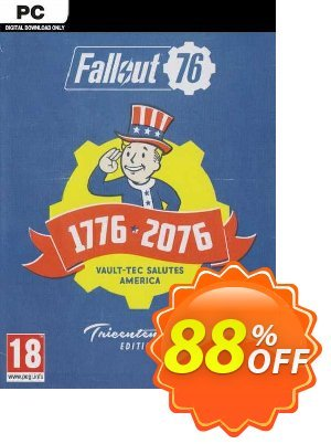 Fallout 76 Tricentennial Edition PC discount coupon Fallout 76 Tricentennial Edition PC Deal 2021 CDkeys - Fallout 76 Tricentennial Edition PC Exclusive Sale offer for iVoicesoft