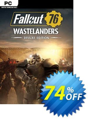 Fallout 76: Wastelanders Deluxe Edition PC (EMEA) discount coupon Fallout 76: Wastelanders Deluxe Edition PC (EMEA) Deal 2021 CDkeys - Fallout 76: Wastelanders Deluxe Edition PC (EMEA) Exclusive Sale offer for iVoicesoft