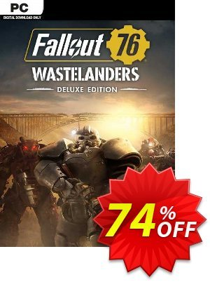 Fallout 76: Wastelanders Deluxe Edition PC (AUS/NZ) discount coupon Fallout 76: Wastelanders Deluxe Edition PC (AUS/NZ) Deal 2021 CDkeys - Fallout 76: Wastelanders Deluxe Edition PC (AUS/NZ) Exclusive Sale offer for iVoicesoft