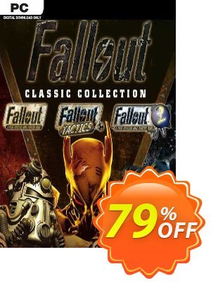 Fallout Classic Collection PC discount coupon Fallout Classic Collection PC Deal 2021 CDkeys - Fallout Classic Collection PC Exclusive Sale offer for iVoicesoft
