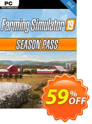 Farming Simulator 19 - Season Pass PC discount coupon Farming Simulator 19 - Season Pass PC Deal 2021 CDkeys - Farming Simulator 19 - Season Pass PC Exclusive Sale offer for iVoicesoft