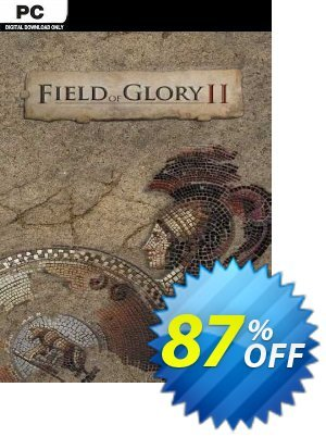 Field of Glory II PC discount coupon Field of Glory II PC Deal 2021 CDkeys - Field of Glory II PC Exclusive Sale offer for iVoicesoft