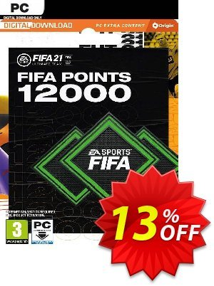 FIFA 21 Ultimate Team 12000 Points Pack PC discount coupon FIFA 21 Ultimate Team 12000 Points Pack PC Deal 2021 CDkeys - FIFA 21 Ultimate Team 12000 Points Pack PC Exclusive Sale offer for iVoicesoft