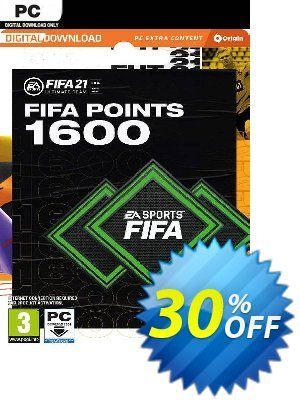 FIFA 21 Ultimate Team 1600 Points Pack PC discount coupon FIFA 21 Ultimate Team 1600 Points Pack PC Deal 2021 CDkeys - FIFA 21 Ultimate Team 1600 Points Pack PC Exclusive Sale offer for iVoicesoft