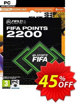 FIFA 21 Ultimate Team 2200 Points Pack PC discount coupon FIFA 21 Ultimate Team 2200 Points Pack PC Deal 2021 CDkeys - FIFA 21 Ultimate Team 2200 Points Pack PC Exclusive Sale offer for iVoicesoft