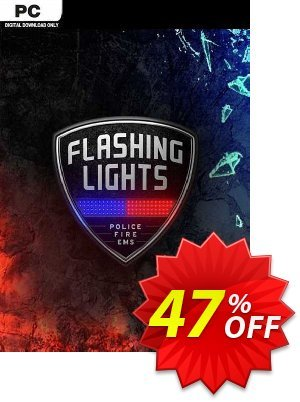 Flashing Lights - Police, Firefighting, Emergency Services Simulator PC discount coupon Flashing Lights - Police, Firefighting, Emergency Services Simulator PC Deal 2021 CDkeys - Flashing Lights - Police, Firefighting, Emergency Services Simulator PC Exclusive Sale offer for iVoicesoft
