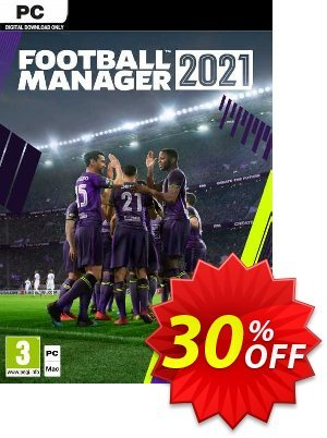 Football Manager 2021 PC (EU) discount coupon Football Manager 2021 PC (EU) Deal 2021 CDkeys - Football Manager 2021 PC (EU) Exclusive Sale offer for iVoicesoft