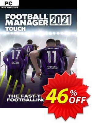 Football Manager 2021 Touch PC discount coupon Football Manager 2021 Touch PC Deal 2021 CDkeys - Football Manager 2021 Touch PC Exclusive Sale offer for iVoicesoft
