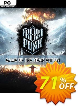 Frostpunk GOTY PC (EU) discount coupon Frostpunk GOTY PC (EU) Deal 2021 CDkeys - Frostpunk GOTY PC (EU) Exclusive Sale offer for iVoicesoft