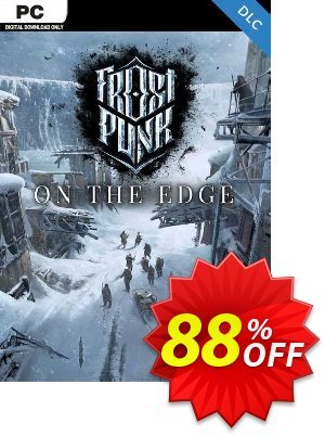 Frostpunk: On The Edge PC - DLC discount coupon Frostpunk: On The Edge PC - DLC Deal 2021 CDkeys - Frostpunk: On The Edge PC - DLC Exclusive Sale offer for iVoicesoft