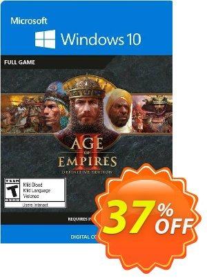 Age of Empires II:  Definitive Edition - Windows 10 PC (UK) discount coupon Age of Empires II:  Definitive Edition - Windows 10 PC (UK) Deal 2021 CDkeys - Age of Empires II:  Definitive Edition - Windows 10 PC (UK) Exclusive Sale offer for iVoicesoft