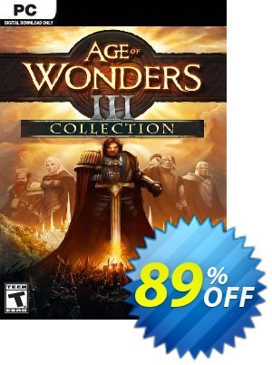 Age of Wonders III 3: Collection PC discount coupon Age of Wonders III 3: Collection PC Deal 2021 CDkeys - Age of Wonders III 3: Collection PC Exclusive Sale offer for iVoicesoft