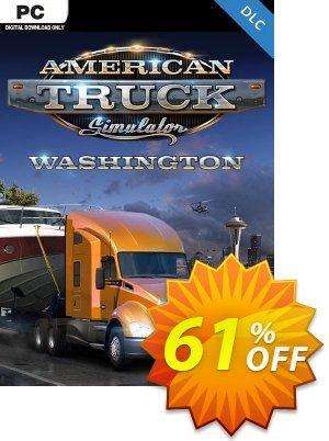 American Truck Simulator PC - Washington DLC discount coupon American Truck Simulator PC - Washington DLC Deal 2021 CDkeys - American Truck Simulator PC - Washington DLC Exclusive Sale offer for iVoicesoft