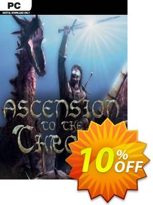 Ascension to the Throne PC discount coupon Ascension to the Throne PC Deal 2021 CDkeys - Ascension to the Throne PC Exclusive Sale offer for iVoicesoft