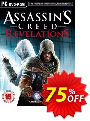Assassin's Creed Revelations PC discount coupon Assassin's Creed Revelations PC Deal 2021 CDkeys - Assassin's Creed Revelations PC Exclusive Sale offer for iVoicesoft